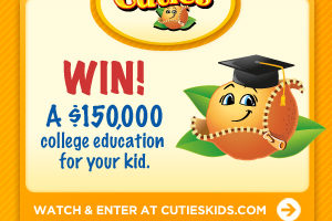 Win DonorsChoose.org Gift Cards and a College Education for Your Cute Kid