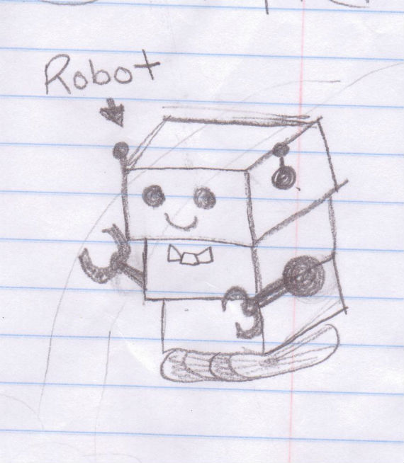 Robot Thank-You Note