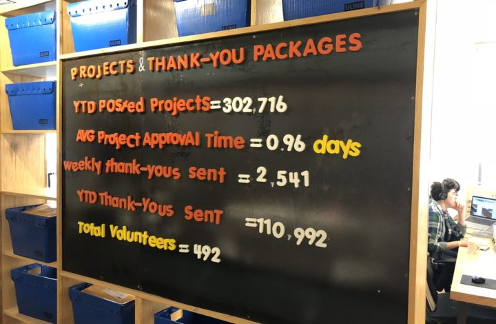 Thank You, Volunteers, For Making DonorsChoose.org Possible
