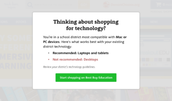A New Feature to Help Teachers Request District-Compatible Technology