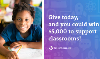 This #GivingTuesday, Win the Chance to Spread Even More Joy
