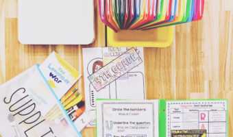 The supplies 4th grade teachers need for remote learning