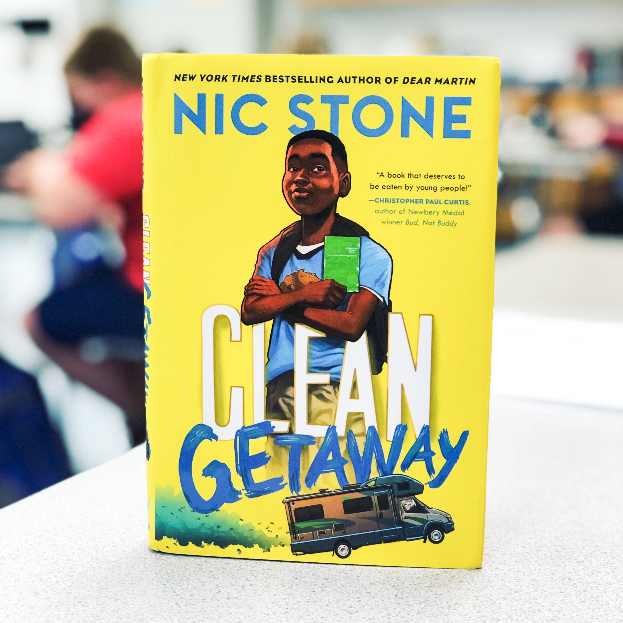 Cover of book Clean Getaway by Nic Stone